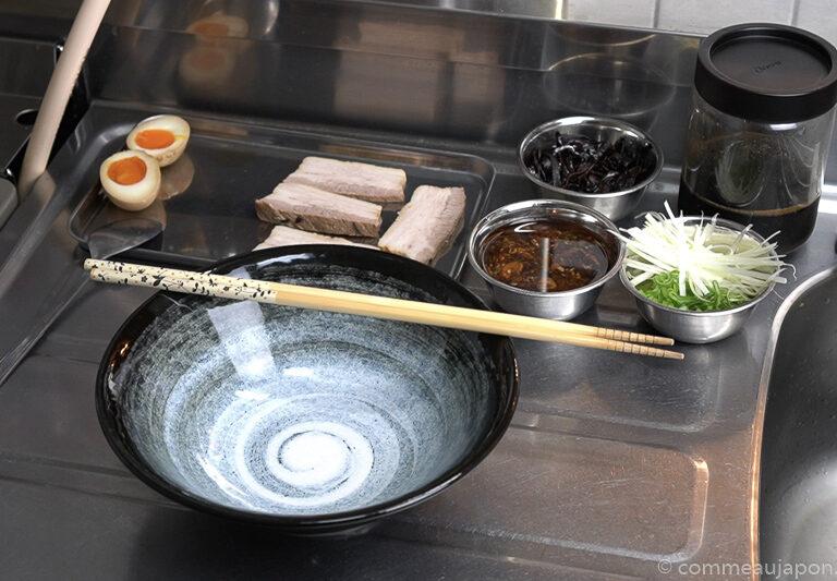 tonkotsu step 20 Tonkotsu ramen - 豚骨ラーメン