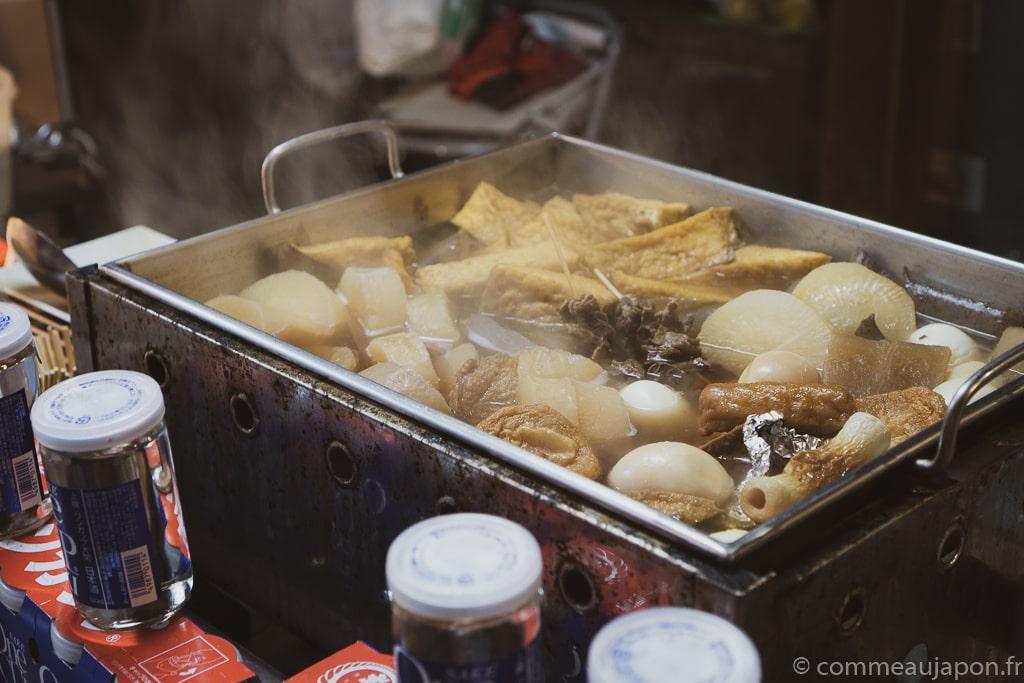 stand oden Oden - Pot-au-feu japonais