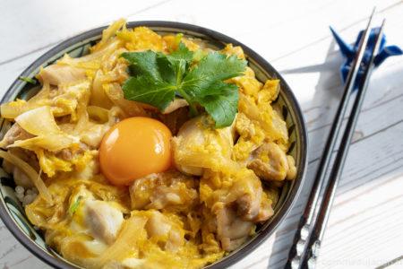 Oyakodon recette titre Riz et Donburi