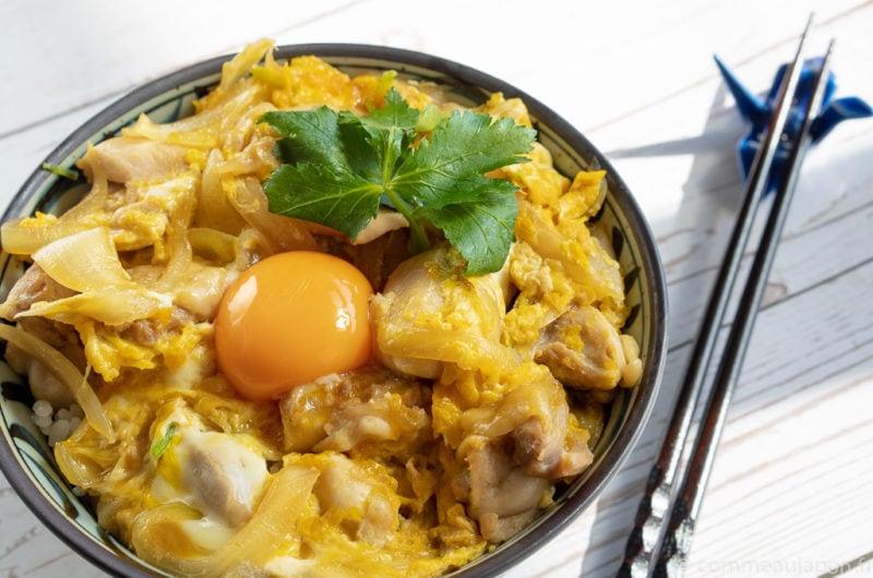Oyakodon - Bol de poulet et oeuf - 親子丼