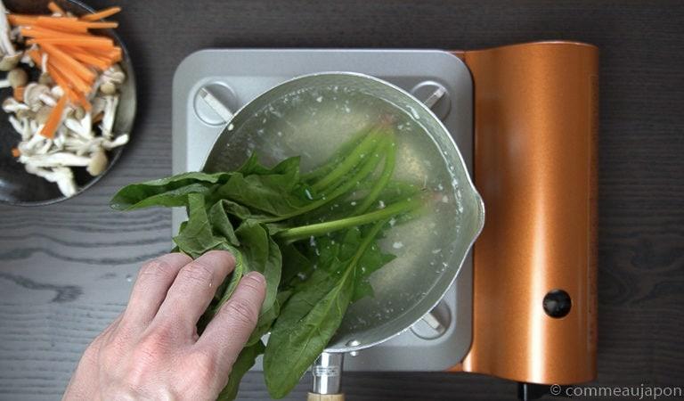 shiraae recette 2 of 12 Shiraae - Salade au tofu crémeux - 白和え