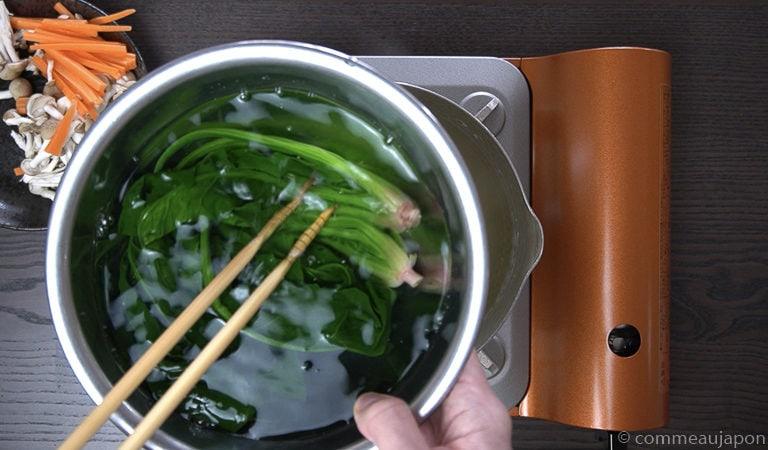shiraae recette 4 of 12 Shiraae - Salade au tofu crémeux - 白和え