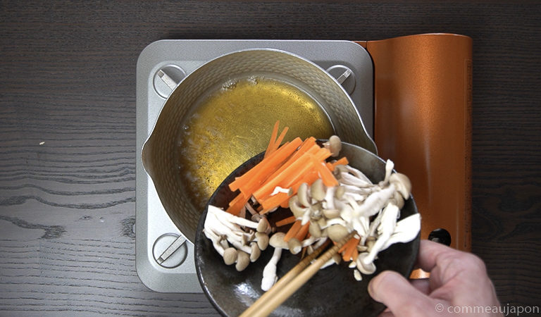 shiraae recette 5 of 12 Shiraae - Salade au tofu crémeux - 白和え