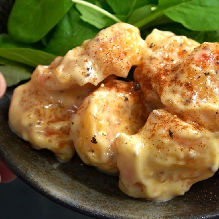 ebi mayo recette etape 1.48.1 Ebi Mayo - Crevettes frites sauce mayonnaise - エビマヨ