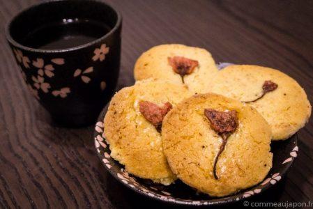 Notre recette des sablés au Sakura